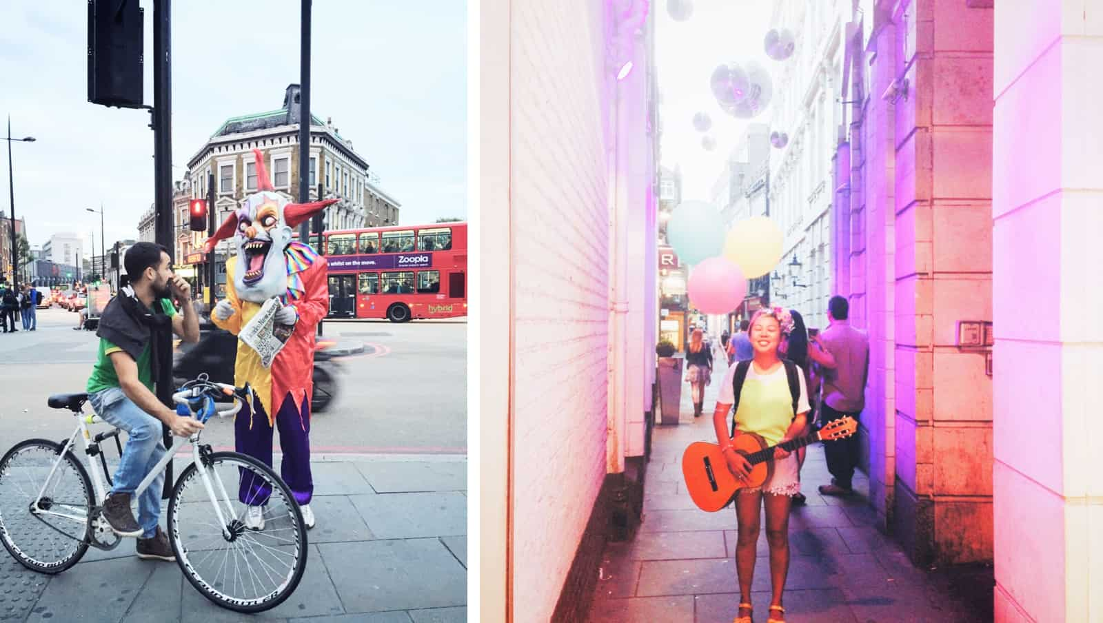 London clown