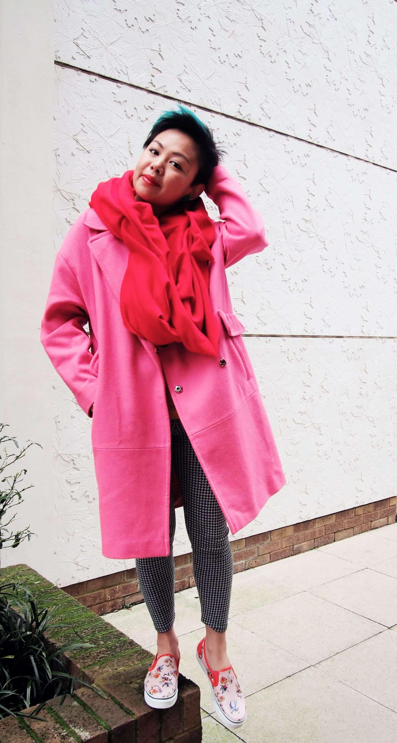pink coat again