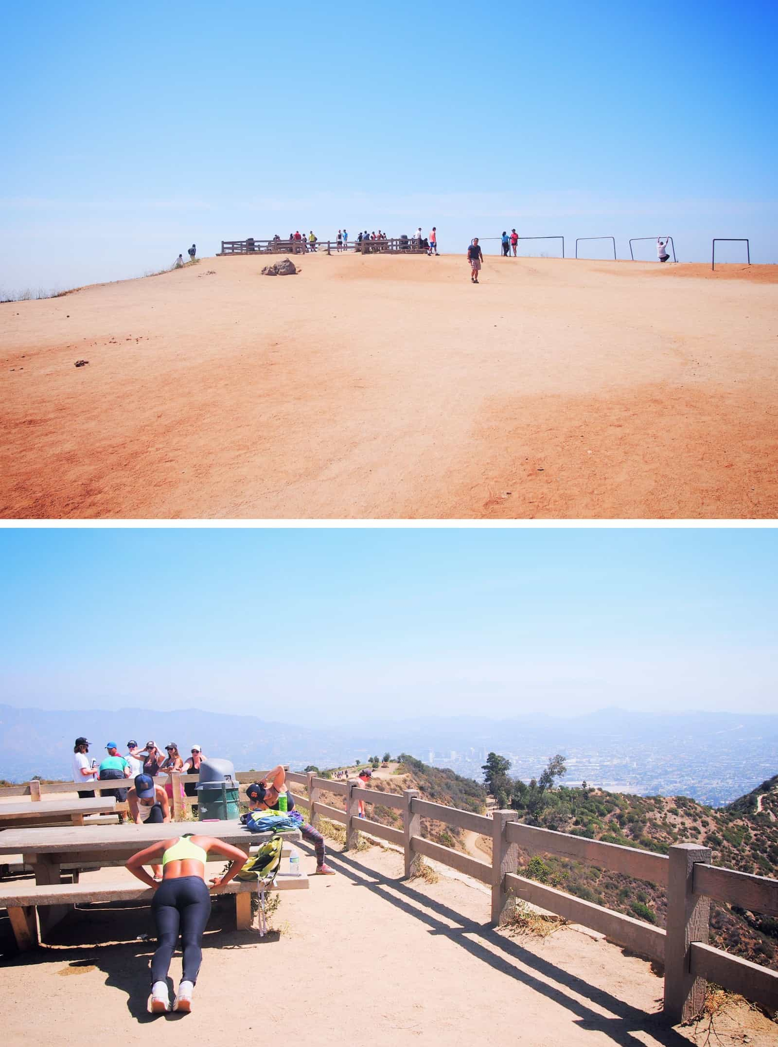 top of griffith park