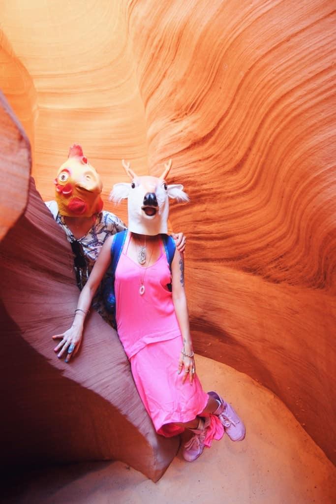 Bringing Colour To Antelope Canyon