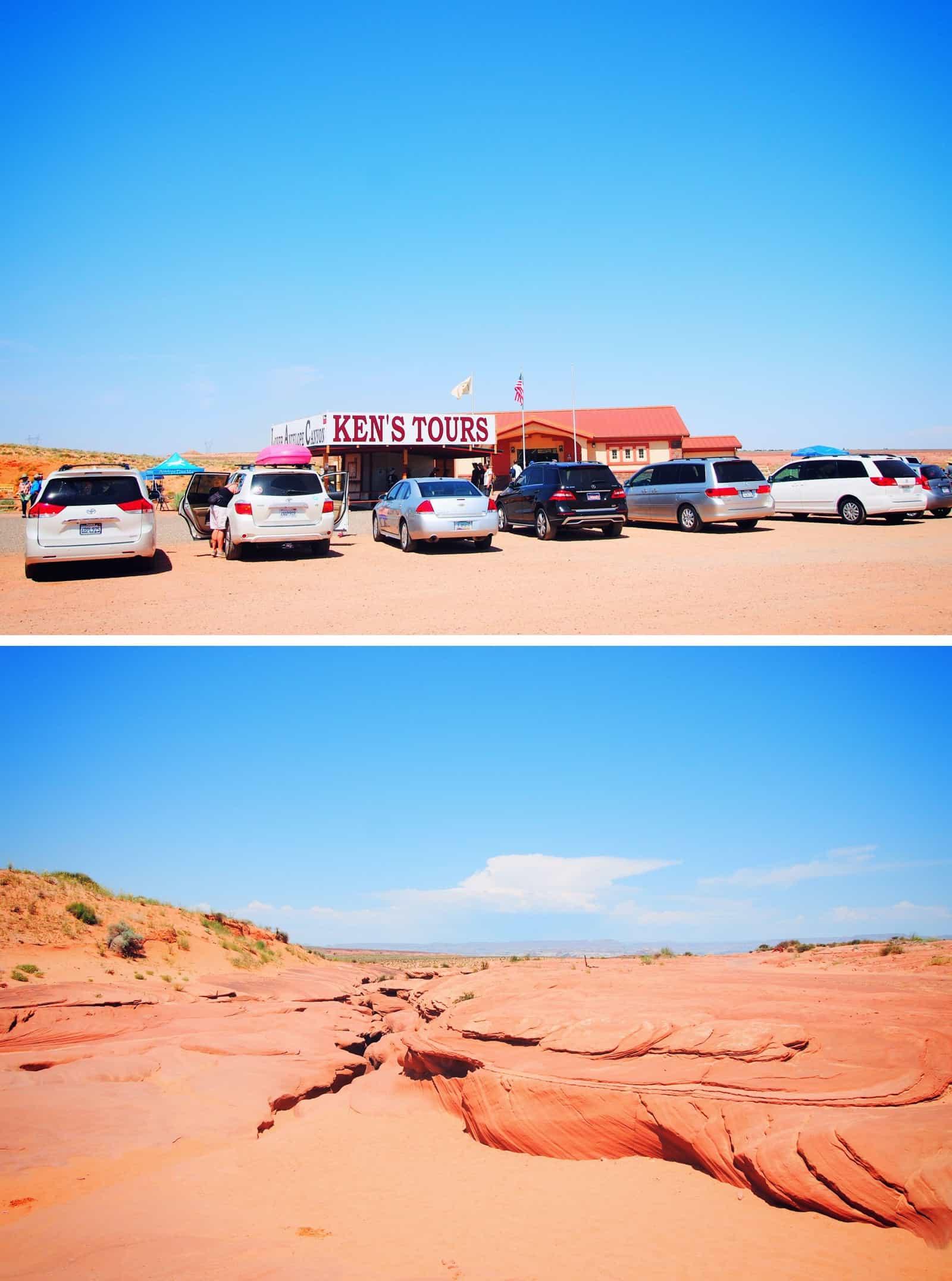 ken's tours antelope canyon