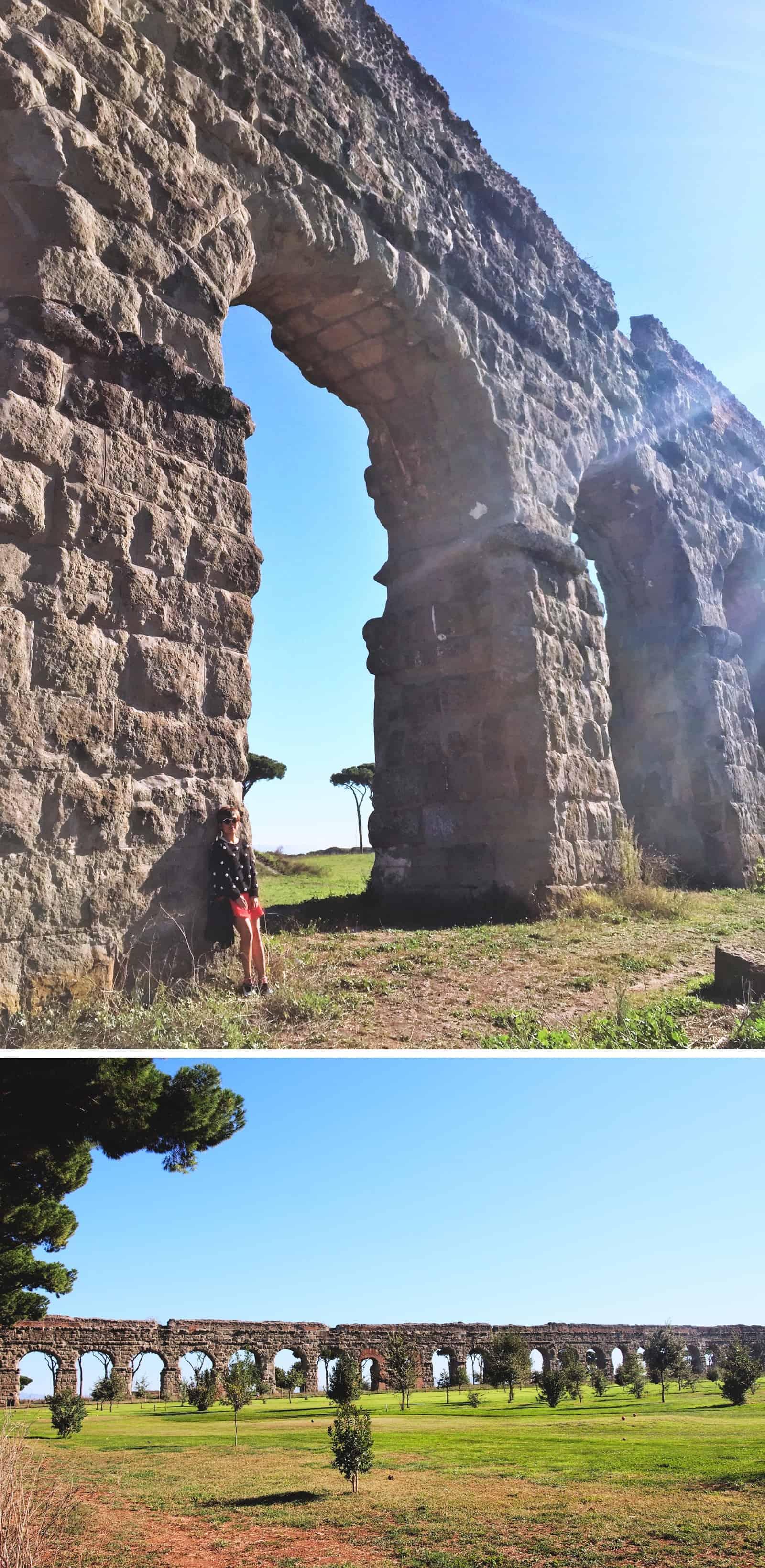 rome aqueducts