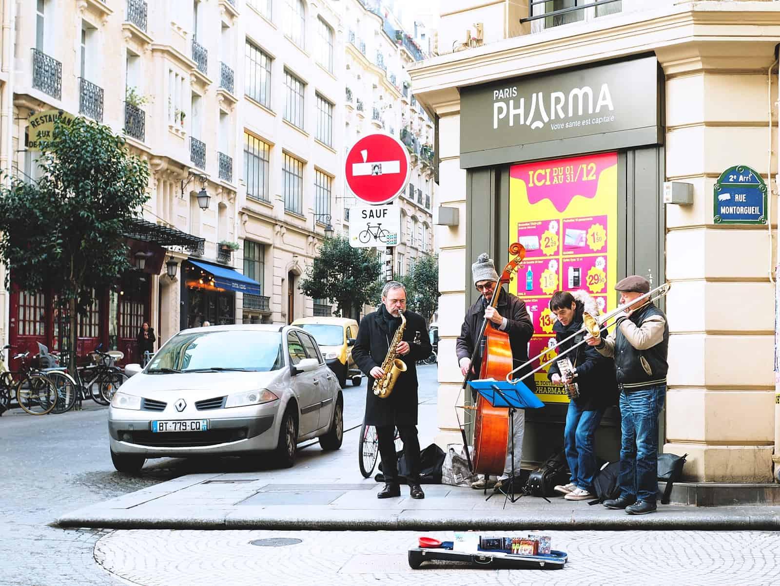 rue montorgueil band