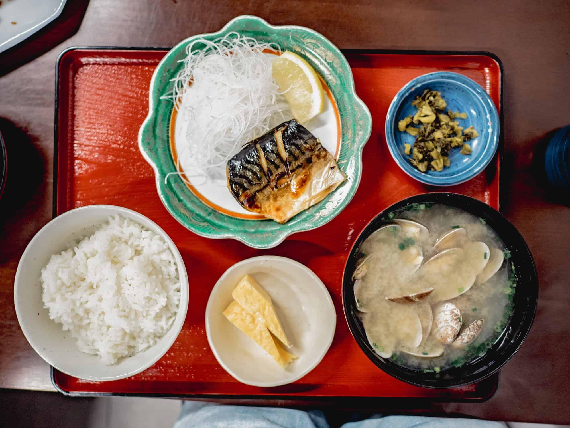 kagoshima fish market breakfast