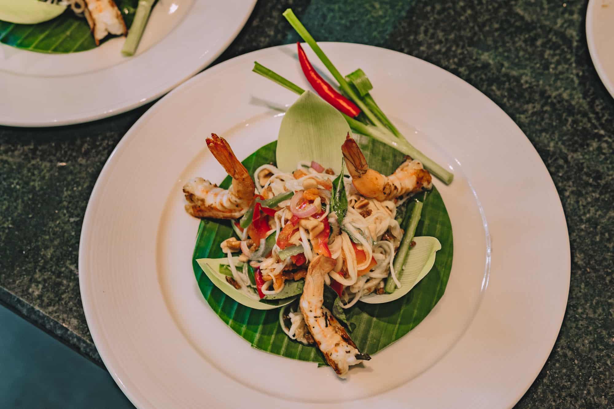 Cambodian Papaya Salad