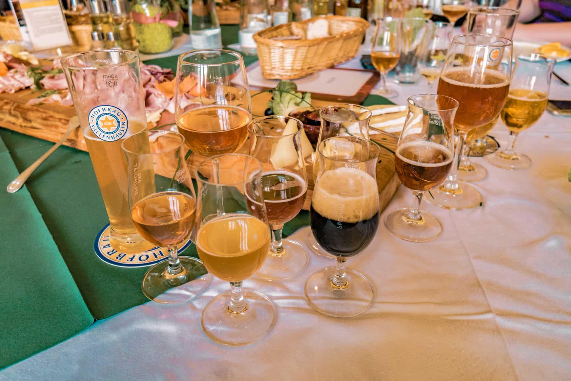 salzburg beer tasting