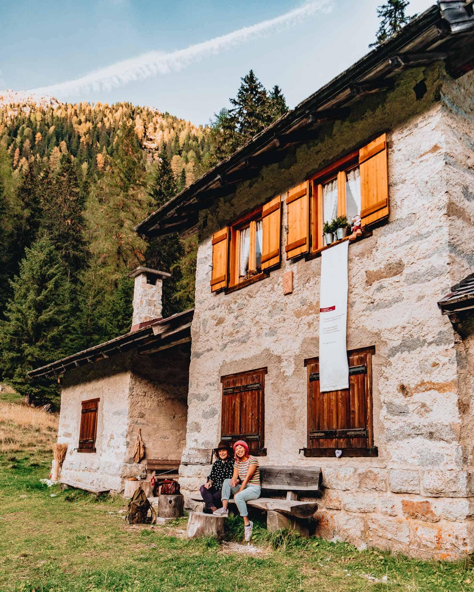 noris' house visit trentino