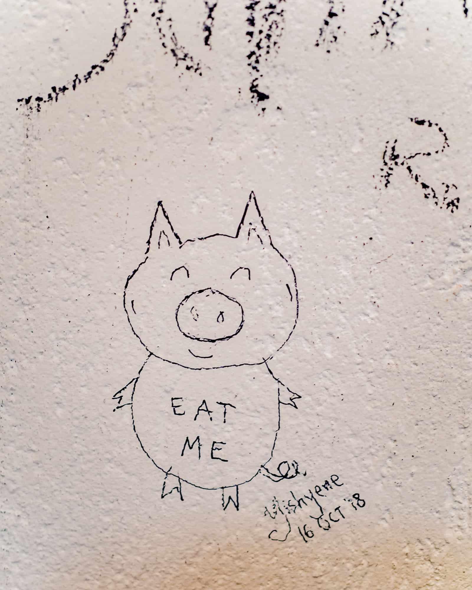 eat me doodle