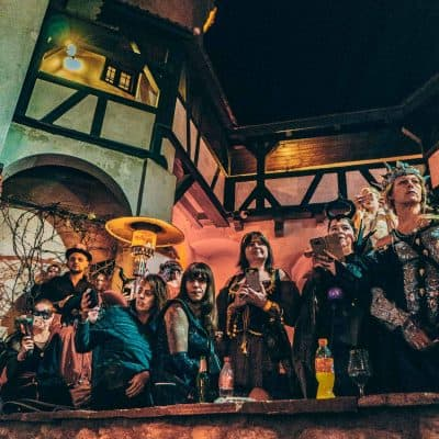 halloween in dracula's castle