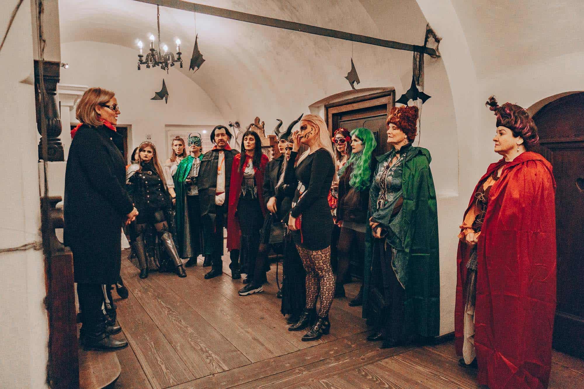 gadventures halloween in transylvania