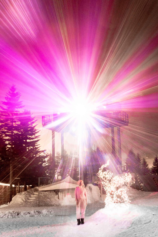 rusutsu resort lights show