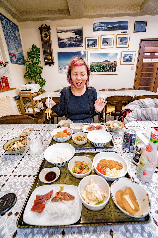 pension yamada food