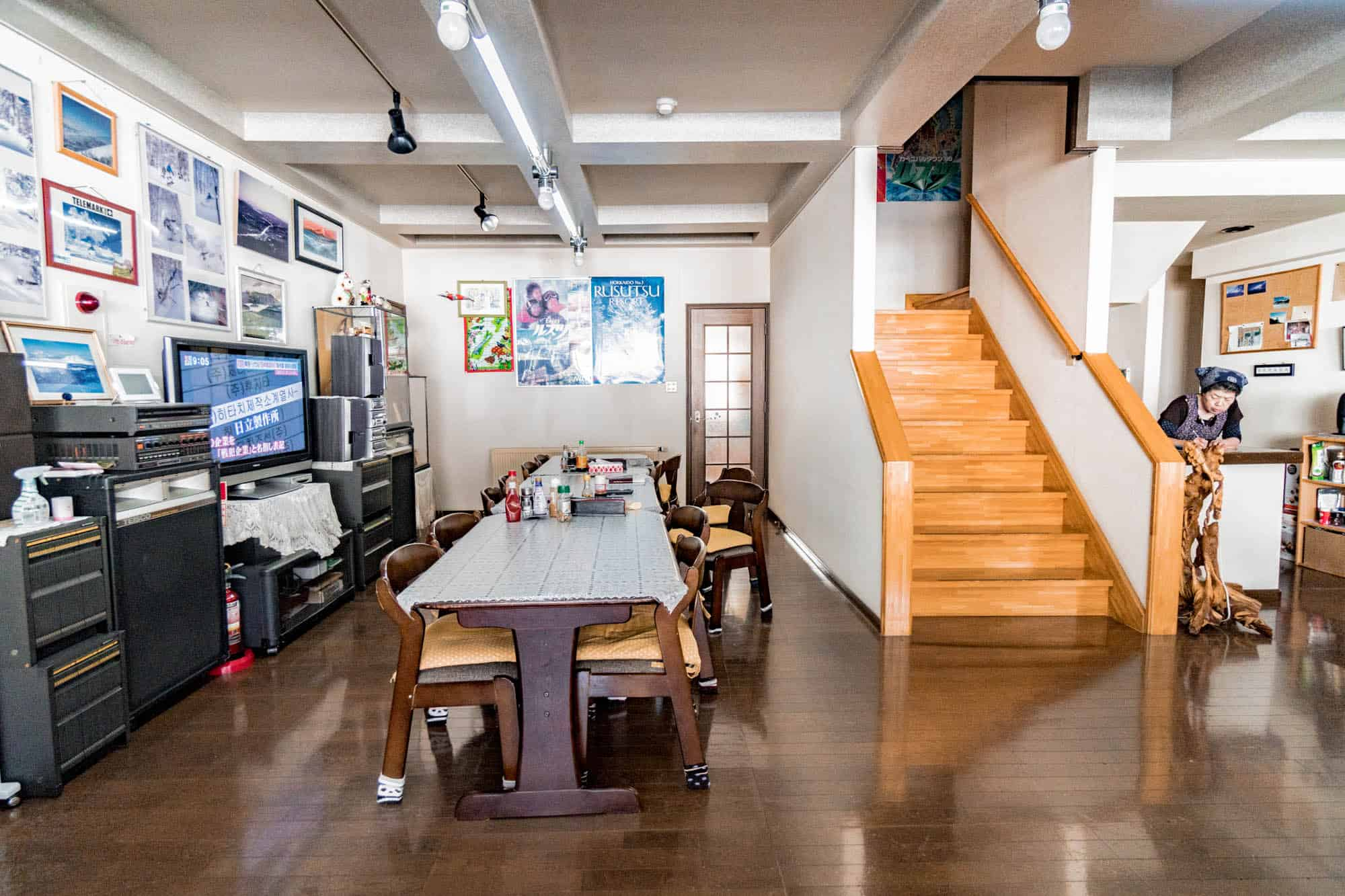 pension yamada living room