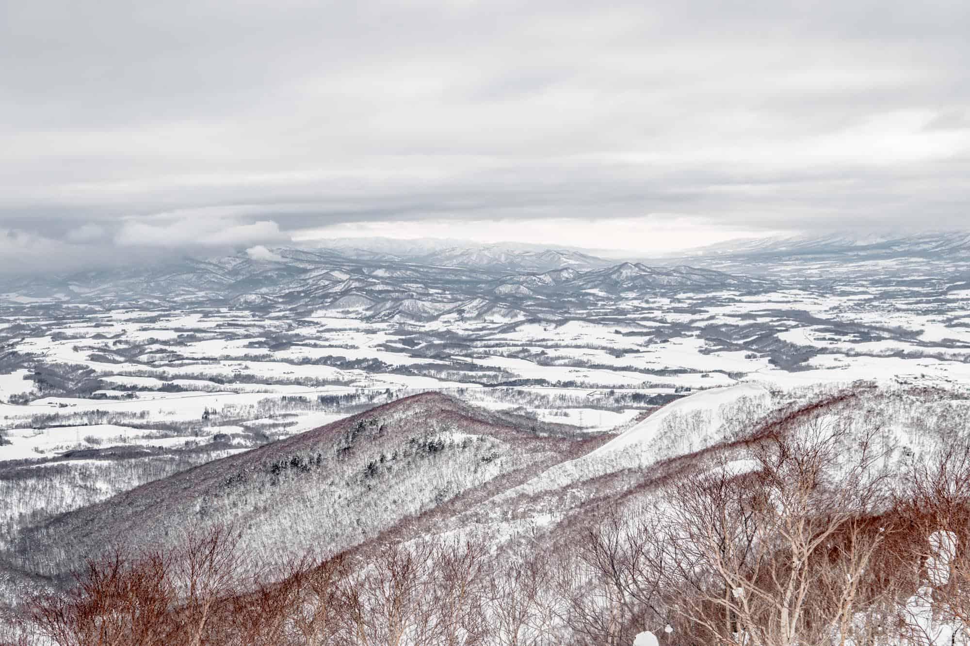 rusutsu mountains